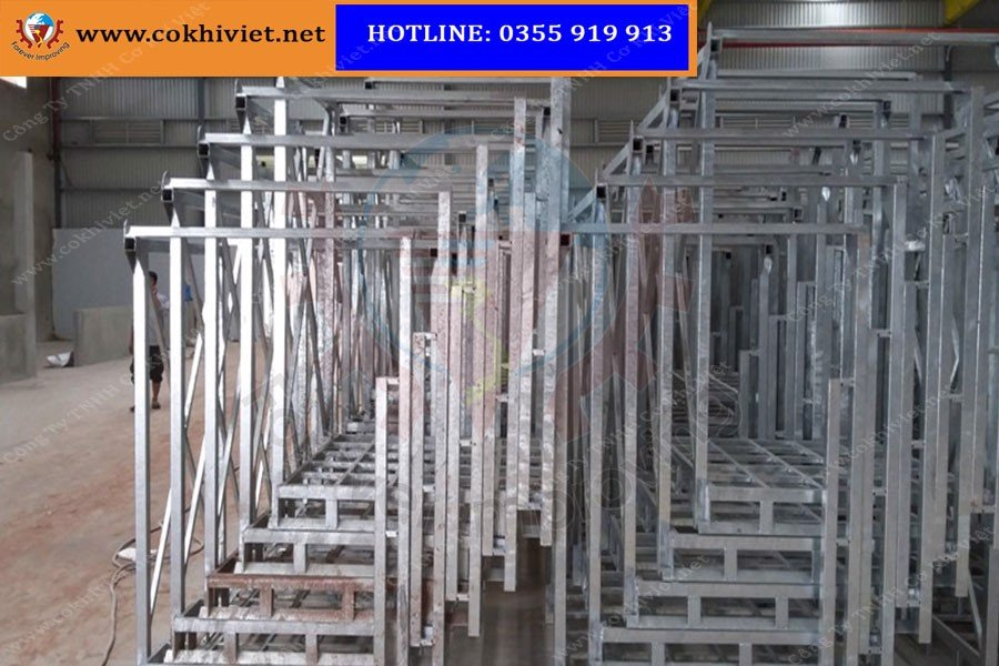 Stacking Steel Pallet