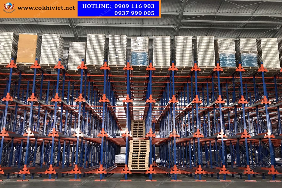 Automatic racking system - Radio Shuttle racking system