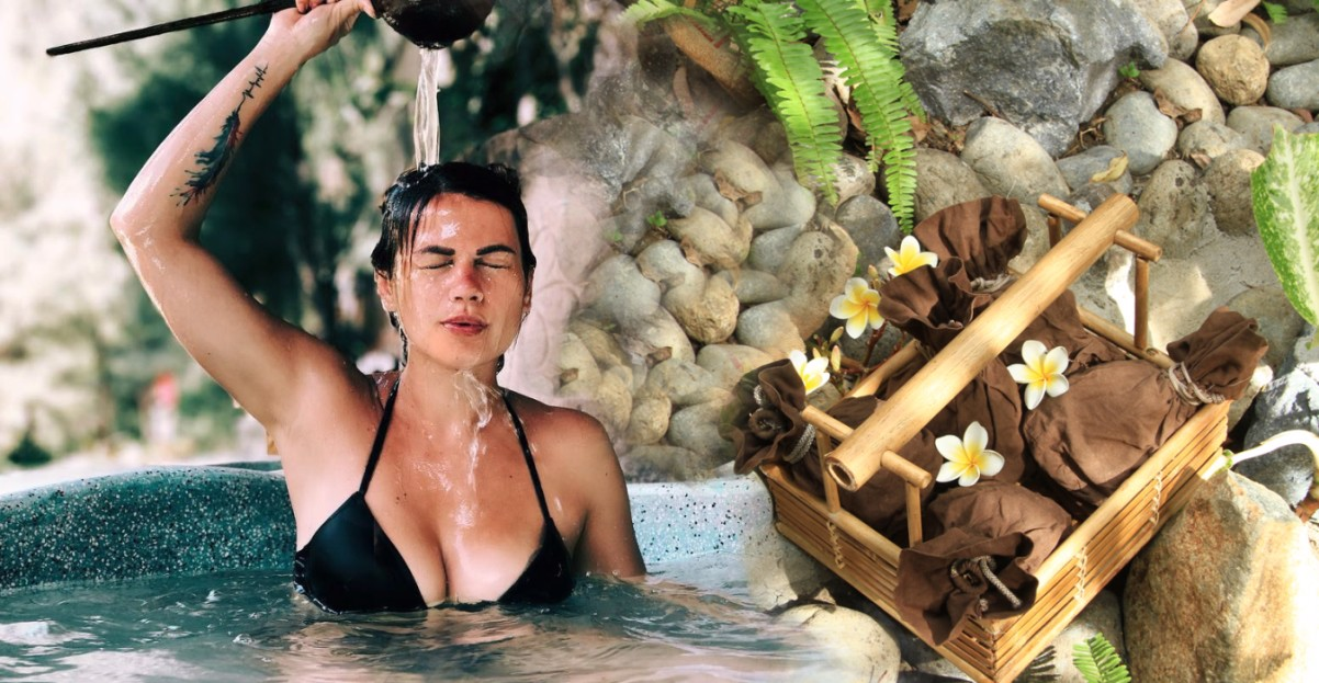 Special herbal mineral mud bath for 1 - 4 pax