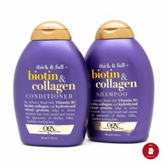 Dầu Gội Biotin & Collagen OGX, 385ml