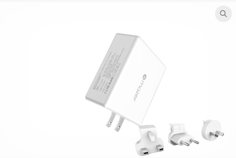 EnerG.BOOST TRAVEL USB-C PD+QC3.0 Wall Charger