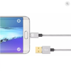 Mazer Reversible Micro USB 1.2M/3.1A/Sync&Quick Charging Cable