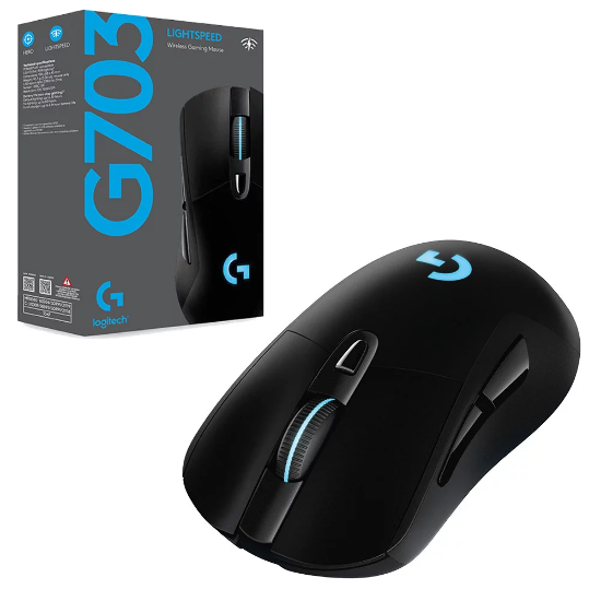 Logitech Mouse-G703 LIGHTSPEED WIRELESS GAMING MOUSE (HERO)