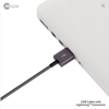 Mazer MFI Lightning Cable 0.2M/2.4A Fast Charging&Data