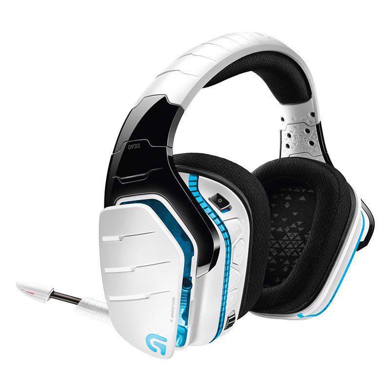Tai Nghe Logitech-G933 WIRELESS 7.1 RGB GAMING HEADSET - WHITE
