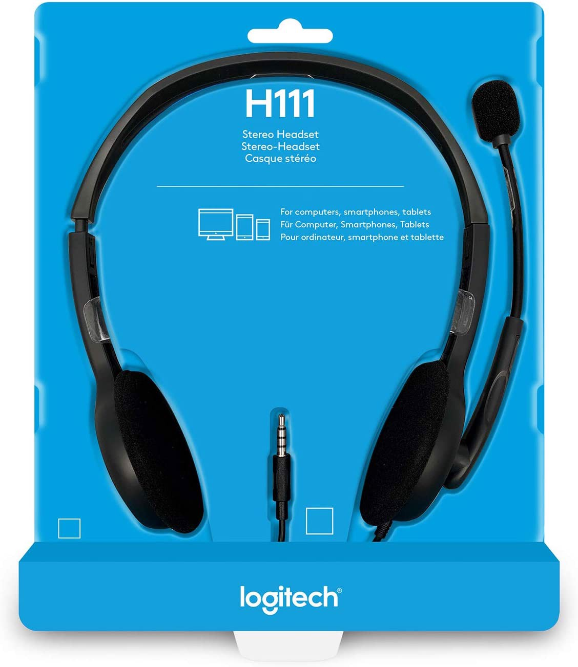 Official Headset-Logitech Stereo Headset H111