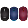 Logitech Wireless Mouse M337 (Bluetooth) Black/ Blue/ Red