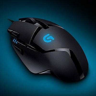 Logitech Mouse-G402 Hyperion Fury Ultra Fast FPS Gaming Mouse
