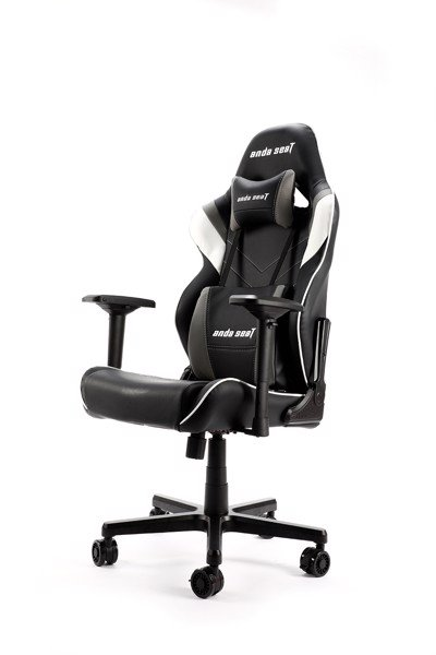 Ghế game Anda Seat Assassin Black/White/Grey V2