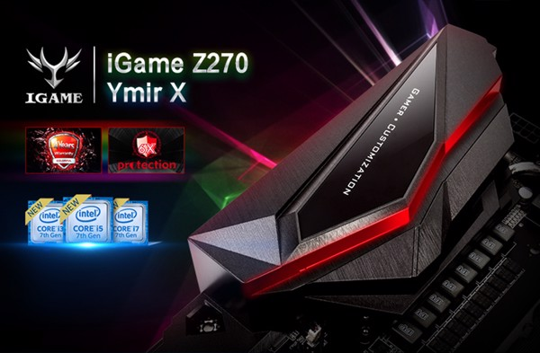 Mainboard Colorful iGame Z270 Ymir X