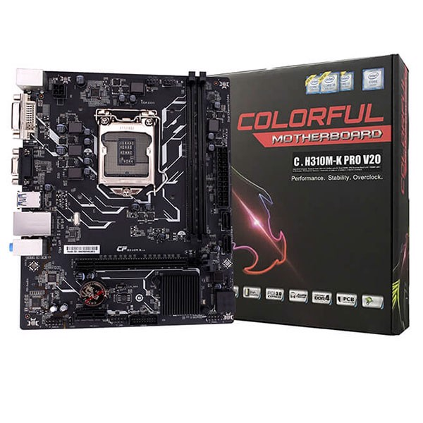 Mainboard Colorful C.H310M-K PRO V20