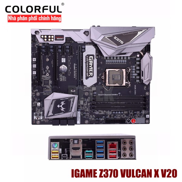 Mainboard Colorful Igame Z370 Vulcan X V20