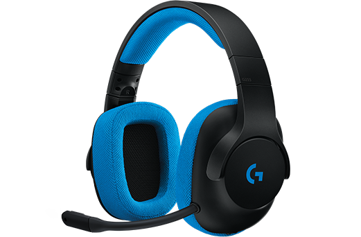 Headset Logitech G233 Prodigy Wired Gaming