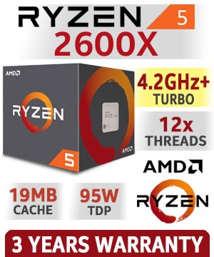 CPU AMD Ryzen 5 2600X