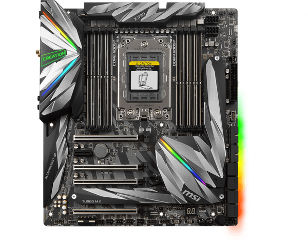 Mainboard MSI X399 Creation