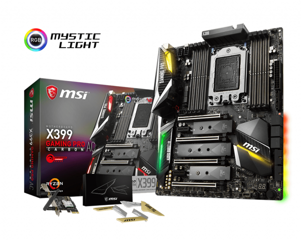 Mainboard MSI X399 Gaming Pro Cacbon AC