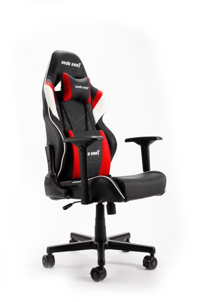 Ghế game Anda Seat Assassin Black/White/Red V2