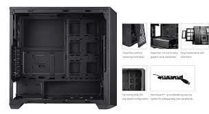 Case Cooler Master MASTER BOX 5 - BLACK - WINDOW