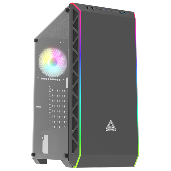 Vỏ case Air 900 ARGB Black Montech