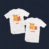 Áo đôi - Best Friends T shirt