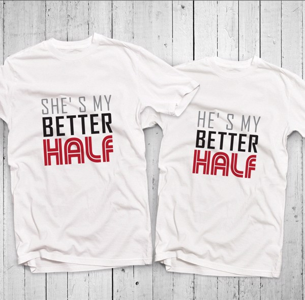 Áo đôi - Better Half Couple T shirt