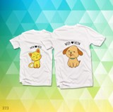 Áo đôi - Cat Dog Couple T shirt