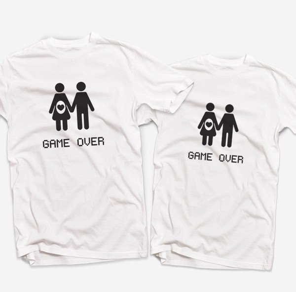 Áo đôi - Game Over Couple T shirt