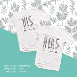 Áo đôi - His/Her Couple T shirt