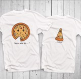 Áo đôi - Pizza Couple T shirt