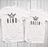 Áo đôi - King/Queen Couple T shirt
