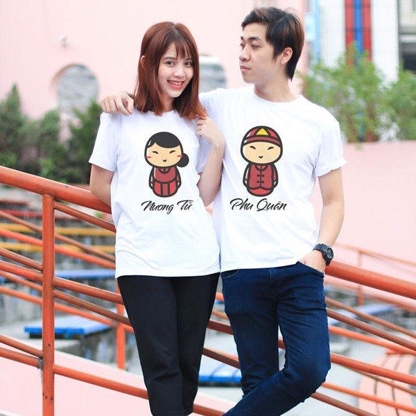 Áo đôi - New Year Couple T shirt