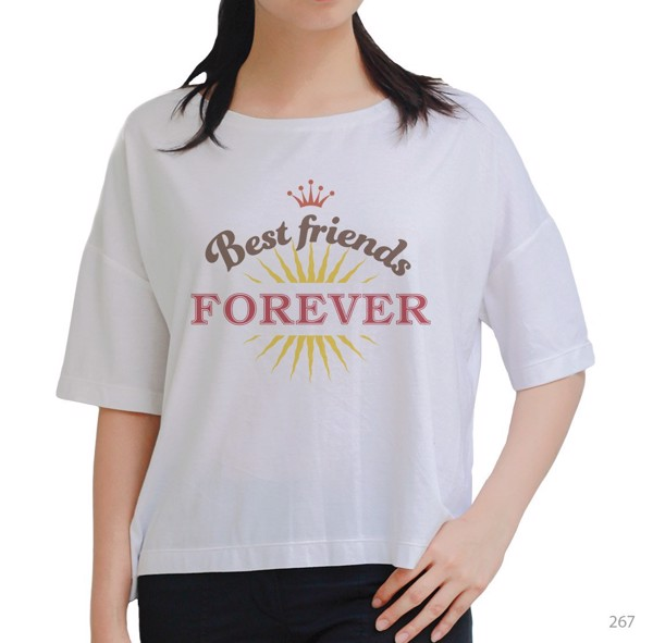 Áo oversize Best Friends Forever