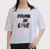 Áo oversize Drunk in love