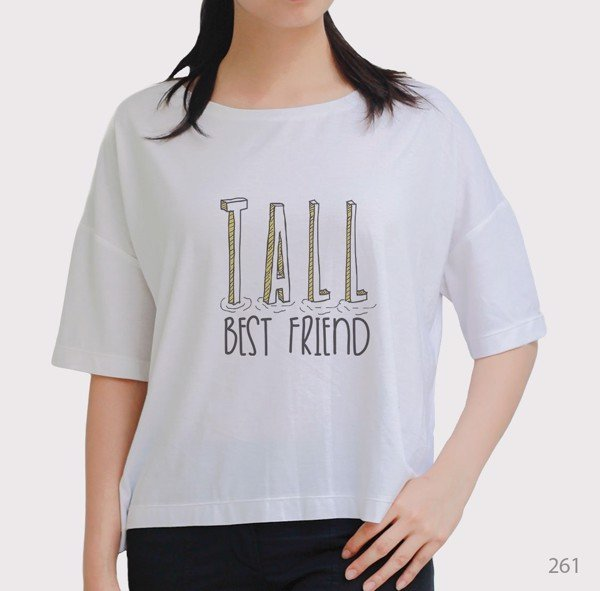 Áo oversize Tall Best Friend