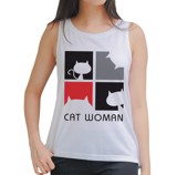 Cat woman Tank Top