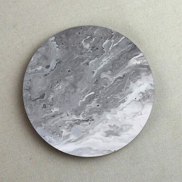 Đế lót ly - Marble màu ghi - (Marble Collection)