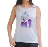 Paint girl Tank Top