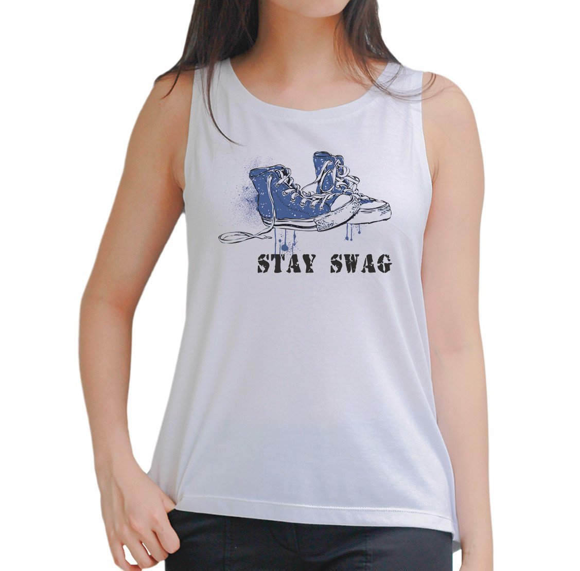 Stay swag Tank Top