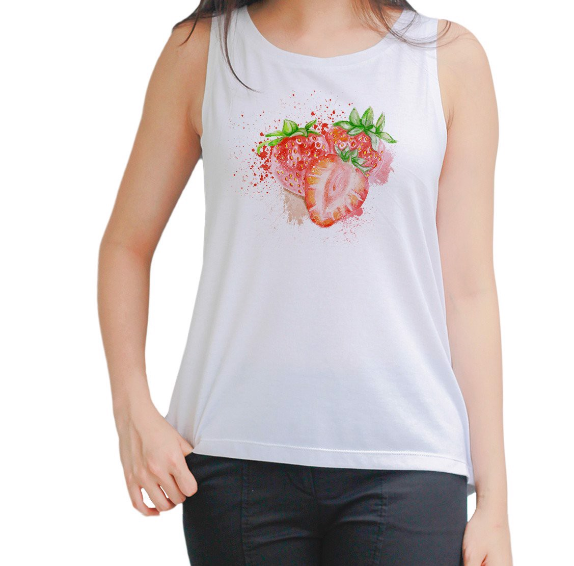 Strawberry Tank To