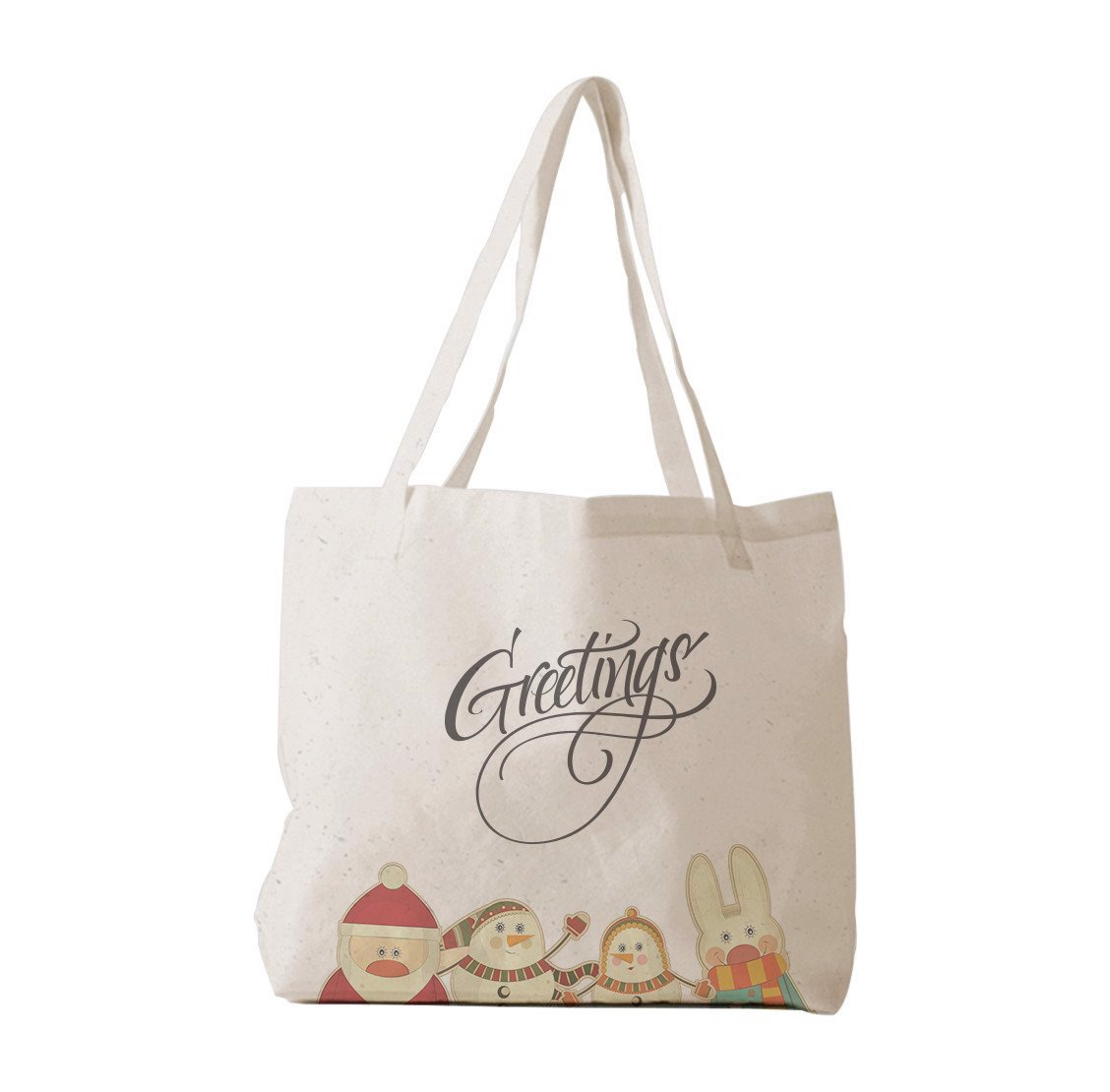 Tote Bag - Animals with Xmas