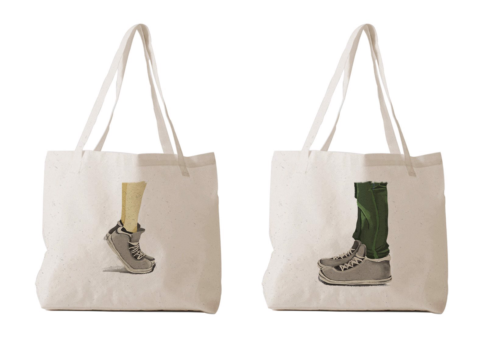 Tote Bag - Couple Shoe