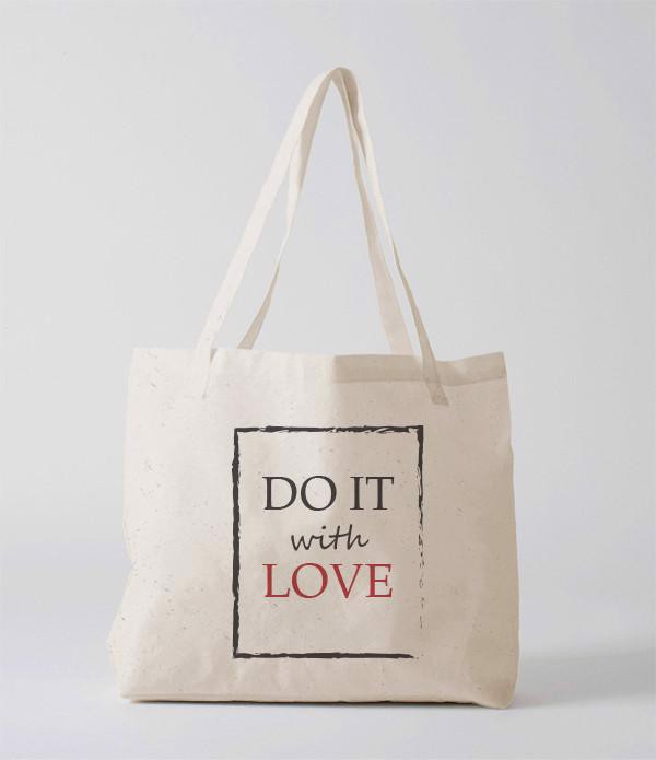 Tote Bag - do it with love