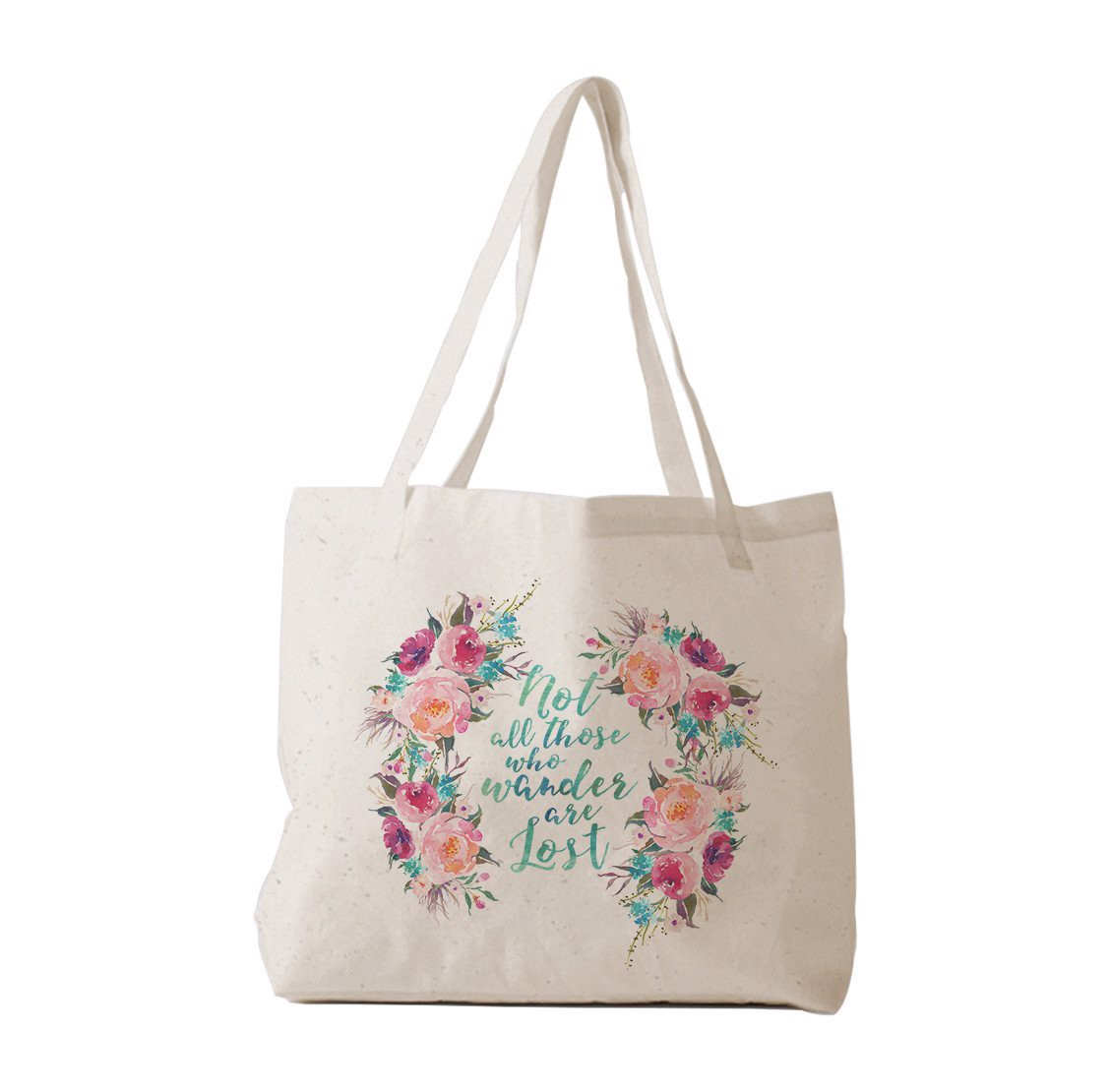 Tote Bag - Floral Quotes