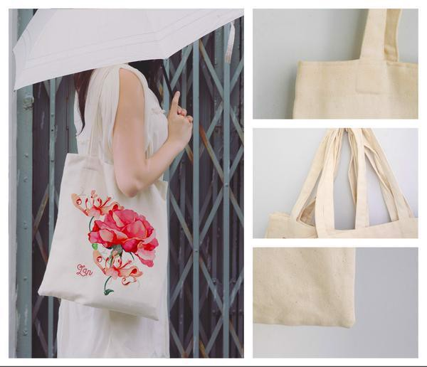 Tote Bag - Happy girls are the prettiest