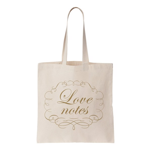 Tote Bag - Love note - Qùa tặng Wedding