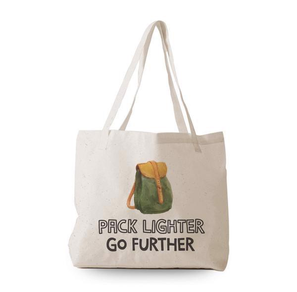 Tote Bag - Pack lighter Go further