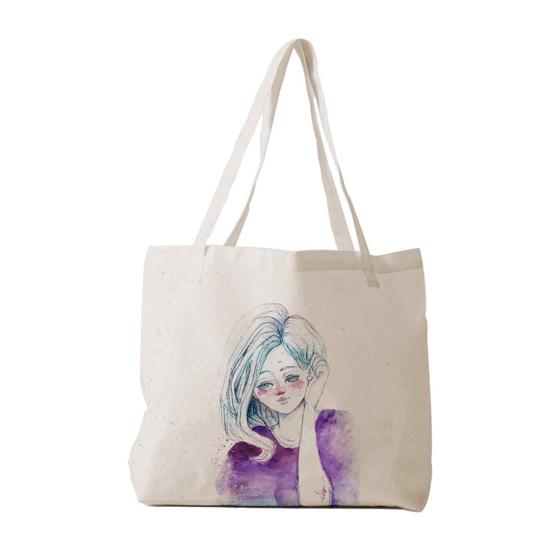 Tote Bag - Paint girl