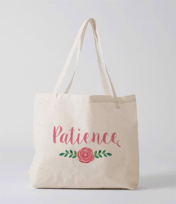 Tote Bag - Patience