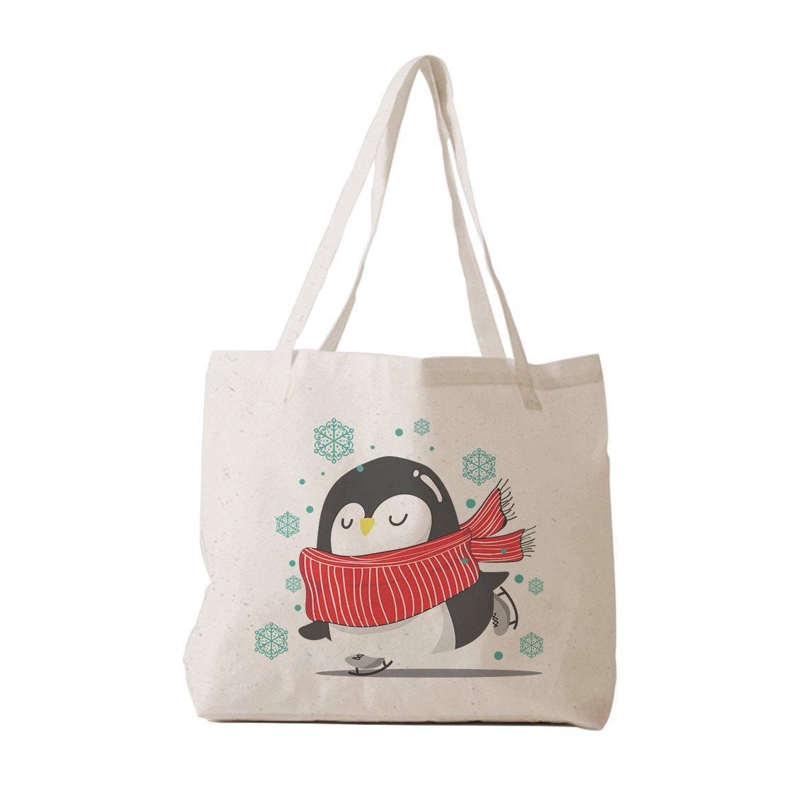 Tote Bag - Penguin with xmas
