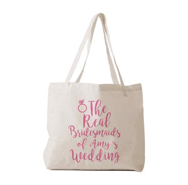 Tote Bag - The Real Bridesmaid of ... Wedding